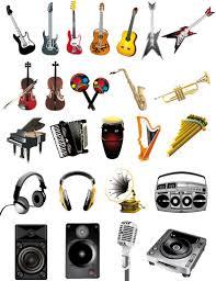 müzik aletleri vector