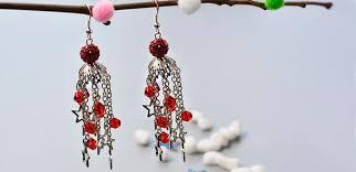 make dangle earrings pandahall original diy how to make glass beaded dangle