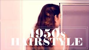 1950s teenage hairstyle youtube