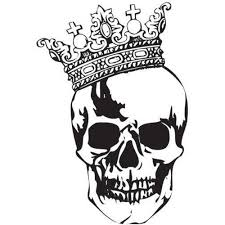 34 best skull with crown designs images on