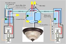 wire light fixture switch loop light fixtures