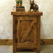 Natural Nightstand Natural Wood Night Stand Rustic U2014 New Decoration Natural Wood