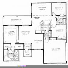Four Bedroom House Plans One Story Well Suited 4 Bedroom House Plans And Cost With Prices One Story