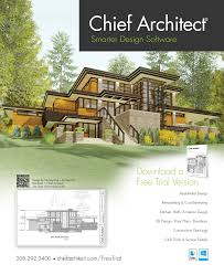 House Design Magazines Chief Architect Home Design Software Ad
