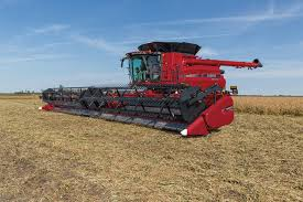 draper heads combine harvester equipment case ih