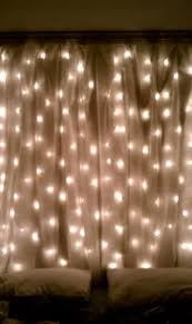 sheer curtains with lights 20 amazingly pretty ways to use string lights