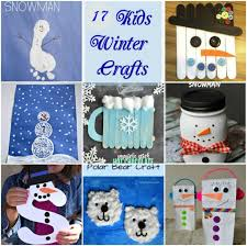 17 winter craft ideas for kids mother2motherblog