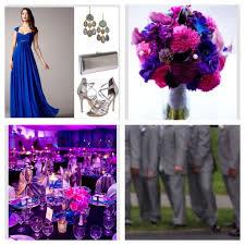 blue and purple wedding royal blue and purple wedding