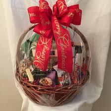 christmas baskets custom designed gift baskets flower arrangements