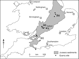 Map Of Oxford England by The Limestone Project