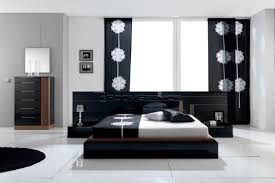 Black And White Bedroom Design Black And White Modern Bedroom Set Design Inspiration Home
