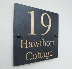 personalized house number plaque choosing house number plaquery