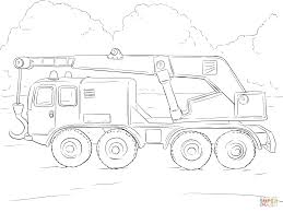 crane truck coloring page free printable coloring pages