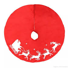 wholesale tree skirt decoration tree dress for