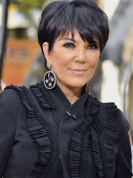 to do kris jenner hairstyles hairstyles kris jenner simple short hair style this style is using
