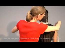 custom s shirts get measured cross shoulder measurement