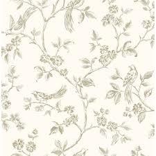 Used Home Decor Elegant Home Decor Wallpaper Bird Motifs That Used Cream As The