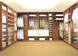 closet u0026 storage large walk in closet with u shape sectional