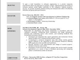 Example Of Resume With Objectives by Enjoyable Design Example Resume Objectives 11 Excellent Resumes 14