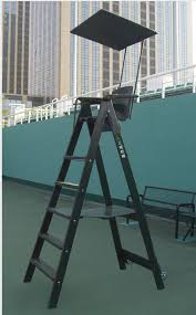 tennis court umpire chair