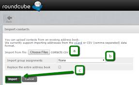 membuat grup kontak di yahoo mail how to import export contacts via cpanel webmail email service