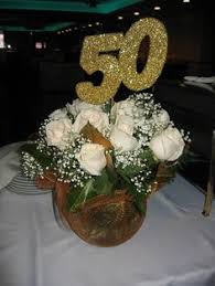 50th anniversary centerpieces designs by ginny 50th anniversary centerpiece 50 th anniversary