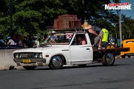 slammed datsun truck summernats 28 cult cars street machine