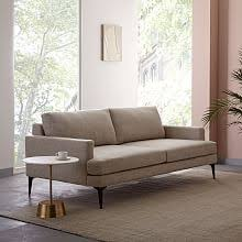 West Elm Lorimer Sofa Contemporary Sofas And Loveseats West Elm