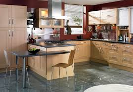 Bar Pulls For Kitchen Cabinets Birch Kitchen Cabinets Kitchen Transitional With Bar Pulls Beige