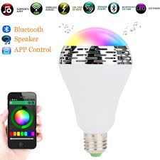 Bluetooth Light Bulb Speaker Wireless Smart Bluetooth Speaker Bulb App Control Music Playing