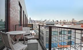 gorgeous sunny penthouse loft with manhattan view resale at the