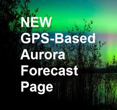 Northern Lights Forecast Alaska Gps Based Aurora Borealis Forecast Get The Probability Of A
