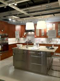 Kitchen Island Red Black Kitchen Island With Stainless Steel Top Elegant Stainless
