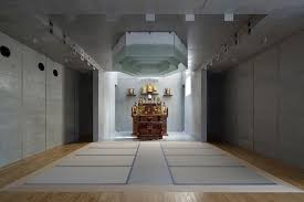 Japanese Temple Interior Shinichi Introduces Contemporary Aesthetics Within Japanese Temple
