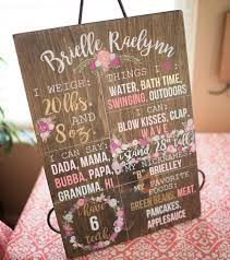 Wvu Home Decor One Year Stats 1st Birthday Decor Wood Signs Hand
