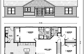 ranch home plans with basements modern house plans small plan with basements open floor porches