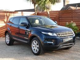 blue range rover used buckingham blue land rover range rover evoque for sale dorset