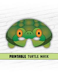 turtle mask tortoise mask party mask halloween costume