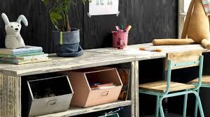 bureau chambre ado cuisine coin bureau enfant astuces dã co et rangement par