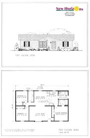 Ranch Home Floor Plan Model Homes U0026 Floor Plans Marion Il New Horizons Homes Inc