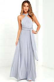 light grey infinity dress pretty maxi dress convertible dress light grey dress infinity
