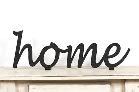 Metal Signs Home Decor Metal Home Sign Home Metal Sign Black Home Sign Home Decor Usa