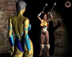Teela And Evil Lyn - teela vs evil lyn 17 by uroboros art on deviantart d ero