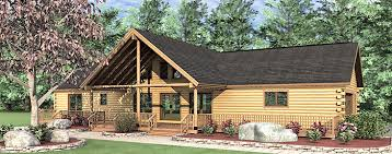 ranch style log home floor plans 3 bedroom single woodland log home floor plan exterior cabin