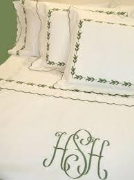 Monogrammed Comforters Monogrammed Bed Linens Luxury Monogrammed Bedding