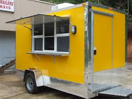 shaved ice trailer gallery advanced concession trailers 1003 exterior shaved ice trailer yellow color