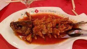 cuisine chinoise poisson poisson écureuil photo de au delice de confucius tripadvisor