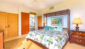 kbm hawaii kapalua bay villas kbv 36g2 luxury vacation rental spacious master bedroom for ultimate comfort