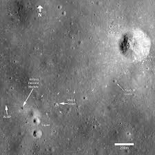 Moon Flag From Earth New Images Of Apollo Landing Sites