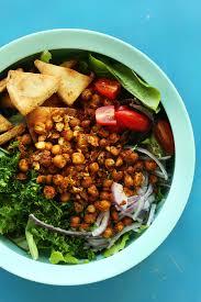 chickpea shawarma salad minimalist baker recipes